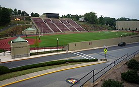 Alumni Memorial Field at Foster Stadium