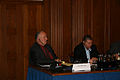 2008 09 Larry Brennan listens at Hamburg conference on Scientology 01.jpg