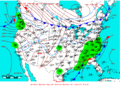 2009-03-15 Surface Weather Map NOAA.png