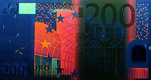 200 euro note - Obverse