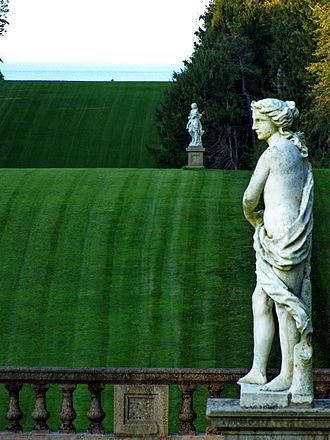 "Castle Hill (Ipswich, Massachusetts) - The ""Grande Allée"" after restoration, 2011"