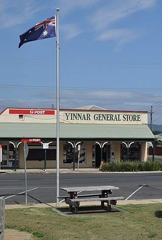 Yinnar, Victoria - Yinnar General Store and Post Office