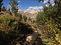 2013-09-16 15 53 53 View down the stream from Island Lake, Nevada where it first crosses the Island Lake Trail.jpg