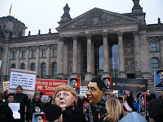 Global surveillance disclosures (2013–present) - Lawyers and judges protest boundless monitoring at PRISM debate in Germany, 18 November 2013