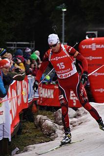 Vetle Sjåstad Christiansen Norwegian biathlete