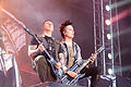 20140615-147-Nova Rock 2014-Avenged Sevenfold-Zack Vengeance and Synyster Gates.JPG