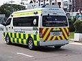 2014 Toyota Commuter 3.0 Khon Kaen Hospital Ambulance (Rear).jpg