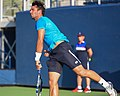 2015 US Open Tennis - Qualies - Jose Hernandez-Fernandez (DOM) def. Jonathan Eysseric (FRA) (20967160795).jpg