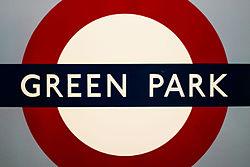 2016-02 Green Park underground london.jpg
