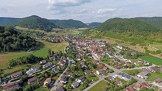 Merishausen - Image: 2016 09 02 16 18 00 593.2 Switzerland Kanton Schaffhausen Merishausen Merishausen
