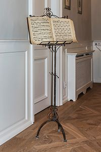 Music Stand Simple English Wikipedia The Free Encyclopedia