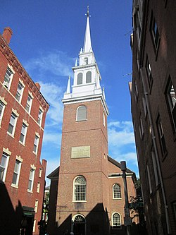 2017 Old North Church from Hull Street.jpg