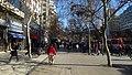 2017 Santiago de Chile - Avenida Alameda, peatones.jpg
