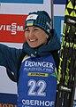 2018-01-06 Wita Semerenko at IBU Biathlon World Cup Oberhof 2018 - Pursuit Women 144 (cropped).jpg