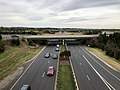 2018-11-01 16 35 16 View north along Virginia State Route 28 (Nokesville Road) from the ramp connecting northbound Virginia State Route 28 to northbound Virginia State Route 234 (Prince William Parkway) in Manassas, Virginia.jpg