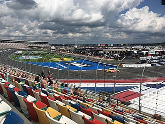 2018 Bank of America Roval 400 - Final practice