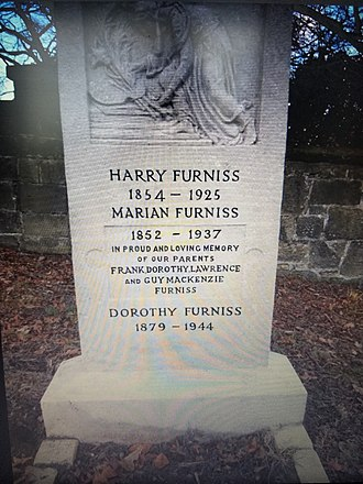 Harry Furniss - Furniss Family grave site, Hastings, England, refurbished in 2018 by Great Grandson; Noël Mark Furniss (California-USA)