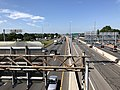 2019-06-26 10 10 07 View south along the northbound and HOT lanes of Interstate 395 (Henry G. Shirley Memorial Highway) from the overpass for Virginia State Route 648 (Edsall Road) on the edge of Springfield and Lincolnia in Fairfax County, Virginia.jpg