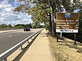 2019-09-18 15 01 58 View east along Virginia State Route 27 (Washington Boulevard) just west of the exit for the George Washington Memorial Parkway (Interstate 395, Reagan National Airport, Alexandria, Mount Vernon) in Arlington County, Virginia.jpg