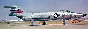 20th Intelligence Squadron - 20th TRS McDonnell RF-101C 56-0183 at Shaw AFB, about 1960
