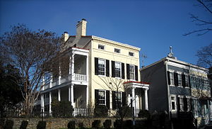 Adrian S. Fisher - Fisher's former residence in Georgetown, Washington, D.C.