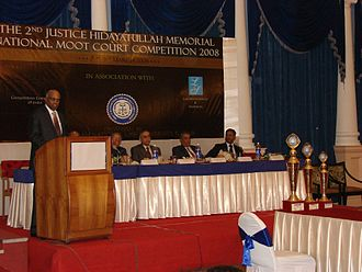Hidayatullah National Law University - 2nd Justice Hidayatullah Memorial National Moot Court Competition