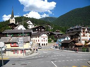 Fiesch - Streetscene