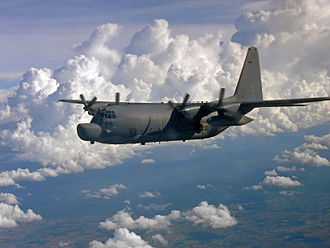 353d Special Operations Group - A Lockheed MC-130H Combat Talon II (88-0195) from the 1st Special Operations Squadron flies a training mission