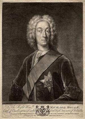 Earl of Cork - Richard Boyle, 3rd Earl of Burlington  and 4th Earl of Cork