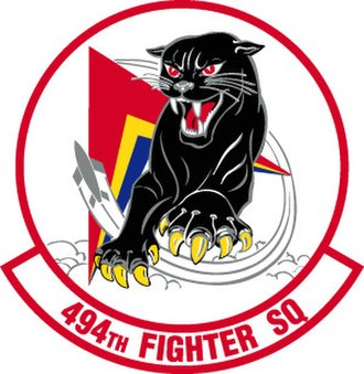 494th Fighter Squadron - Image: 494th Fighter Squadron