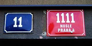 Číslo orientační a popisné