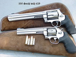 Smith & Wesson Model 500 - Image: 500withsmith 629