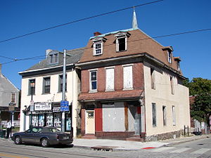 Owen Wister - Birthplace of Owen Wister at 5203 Germantown Avenue, Philadelphia