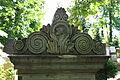 598683 Wrocław Cmentarz Żydowski - nagrobki 09.JPG