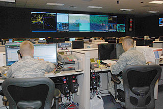 Air Operations Center type of command center used by the United States Air Force
