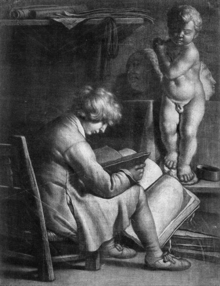 Early mezzotint by Wallerant Vaillant, Siegen's assistant or tutor 6409 bassenge2vaillerant.jpg