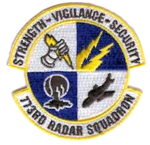 Montauk Air Force Station - Emblem of the 773d Radar Squadron