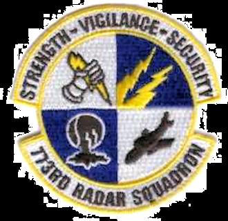 Montauk Air Force Station - Emblem of the 773d Radar Squadron