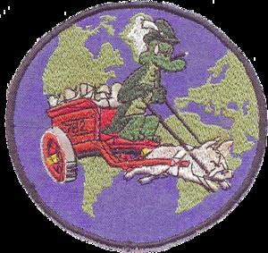 782d Troop Carrier Squadron - Emblem of the 782d Troop Carrier Squadron