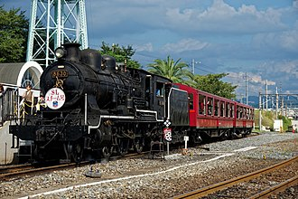 JGR Class 8620 - Image: 8630 steam locomotive at Kyoto Railway Museum 2016 08 26