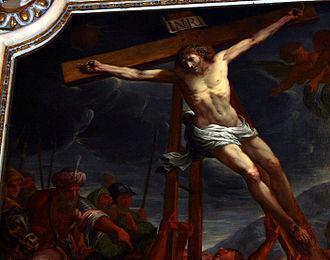 Antonio Busca (painter) - Antonio Busca, Crucifixion. Milan, San Marco.