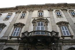 8753 - Milano - Via Brera - Palazzo Cusani - Foto Giovanni Dall'Orto 14-Apr-2007.jpg