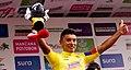 8 Etapa-Vuelta a Colombia 2018-Ciclista Jonathan Caicedo-Lider Clasificacion General.jpg