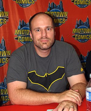 Tom King (comics) - King during an appearance at Midtown Comics in Manhattan