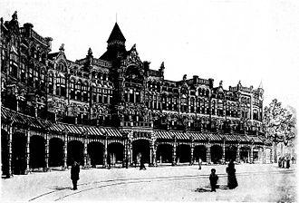 Raadhuisstraat - The street in 1898