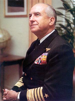 Thomas Hinman Moorer - Admiral Thomas H. Moorer, U.S. Navy