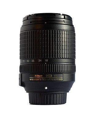 AF-S DX Nikkor 18-140mm f/3.5-5.6G ED VR - Image: AF S DX Nikkor 18 140 f 3.5 5.6G ED VR
