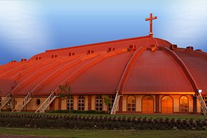 Apostolic Faith Mission of South Africa - A modern AFM mega-church in Boksburg, east of Johannesburg