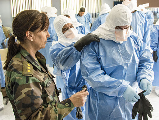 AFSOUTH aids in training partners for UN peace keeping mission 141204-F-HZ705-002