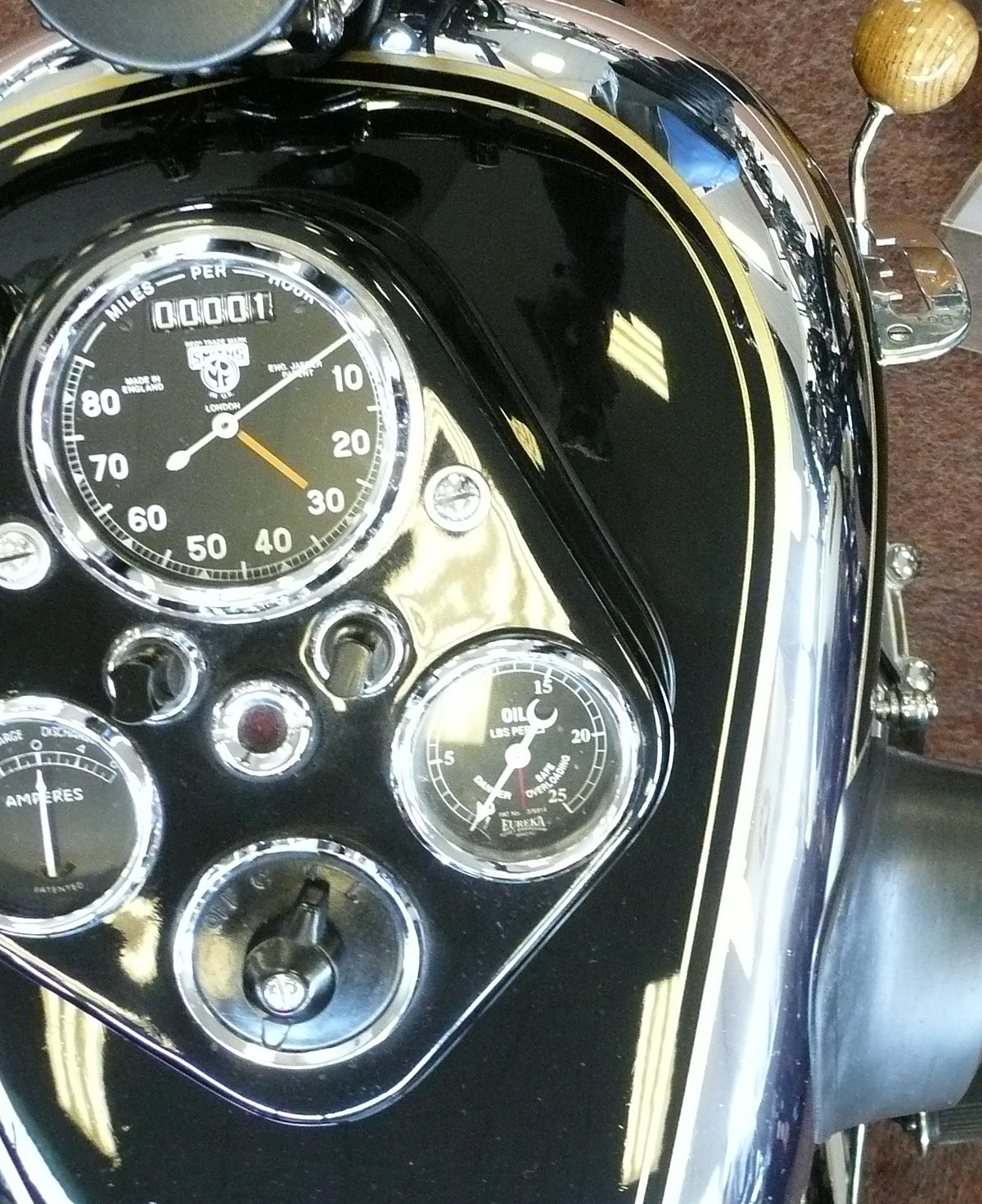Px Ajs S Riders View on V4 Engine